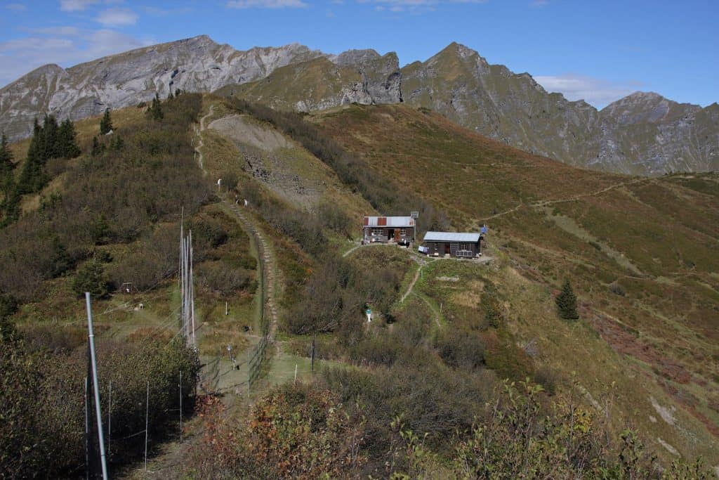 Forschungsstation Col de Bretolet