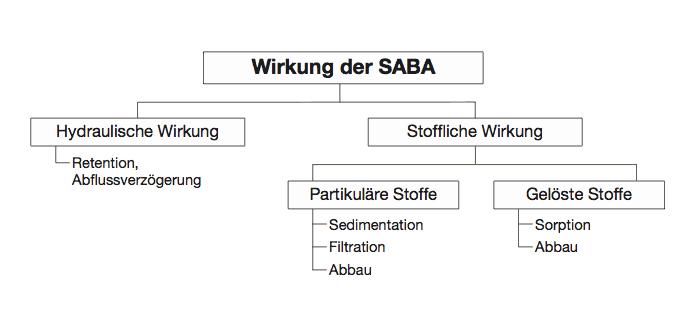 Die Reinigungsleistung einer SABA beruht auf ganz verschiedenen Prozessen.