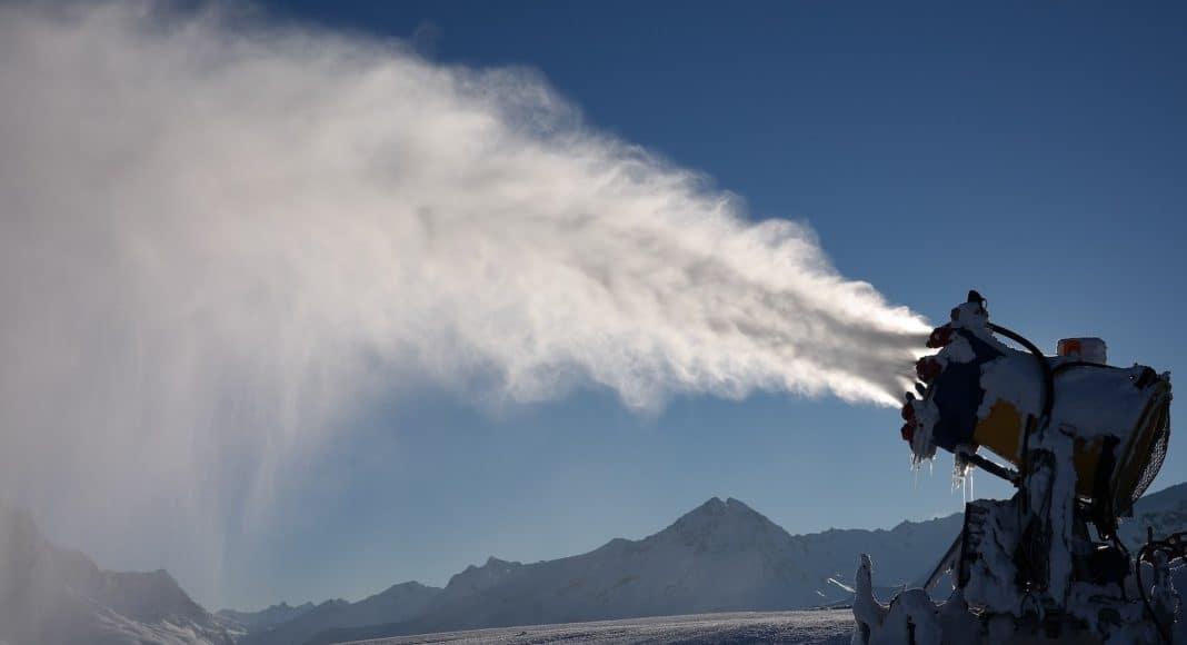 Beschneiungsanlagen haben einen hohen Wasserverbrauch