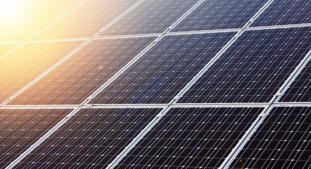 Solarzellen von Nahe.