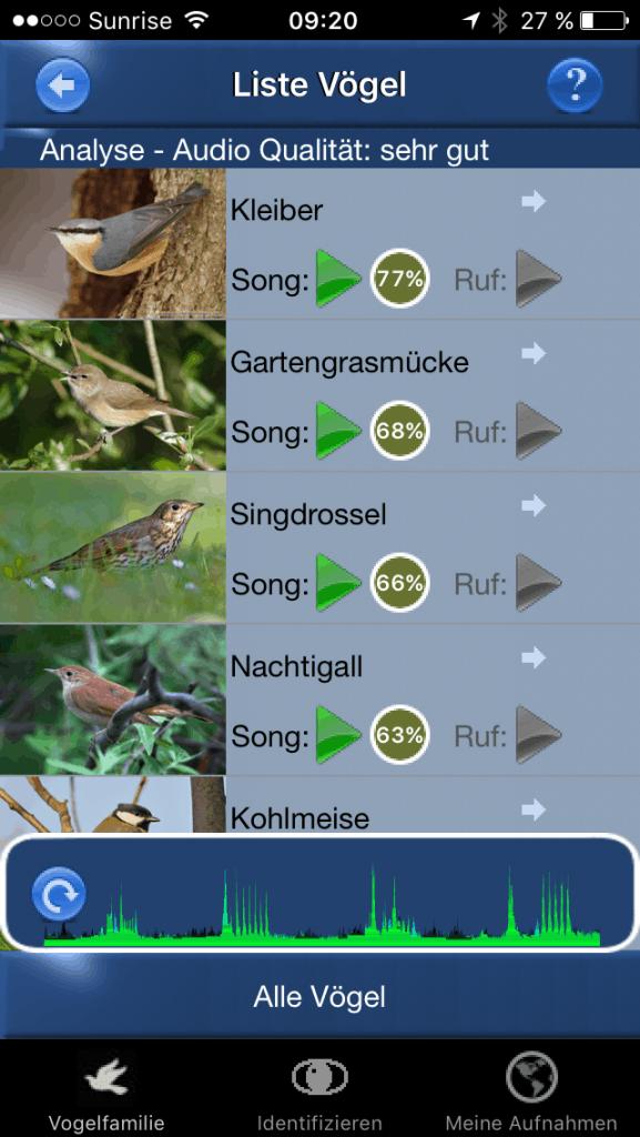 Vogelstimmen ID: Nachtigall