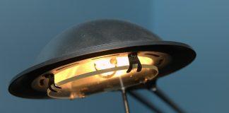 Die Halogenlampe ist Energieeffizient.
