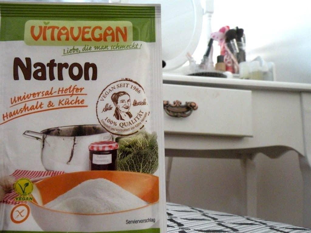 Natron kann für die Herstellung eines ökologischen Deos genutzt werden.