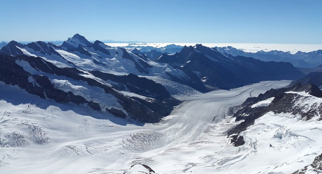 Die Gletscher-Initiative soll auch den grossen Aletschgletscher schützen.
