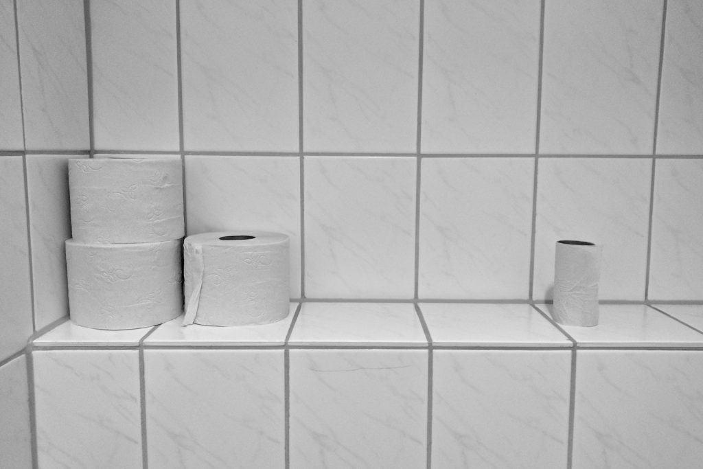 WC-Papier sollte aus Recyclingpapier sein.