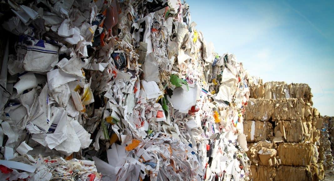 Recycling Papier.