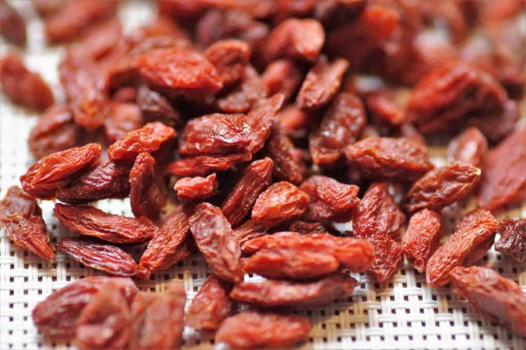 Getrocknete Goji Beeren gehören ebenfalls zum Superfood.