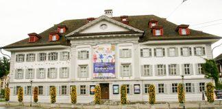 Naturmuseum Luzern von vorne.