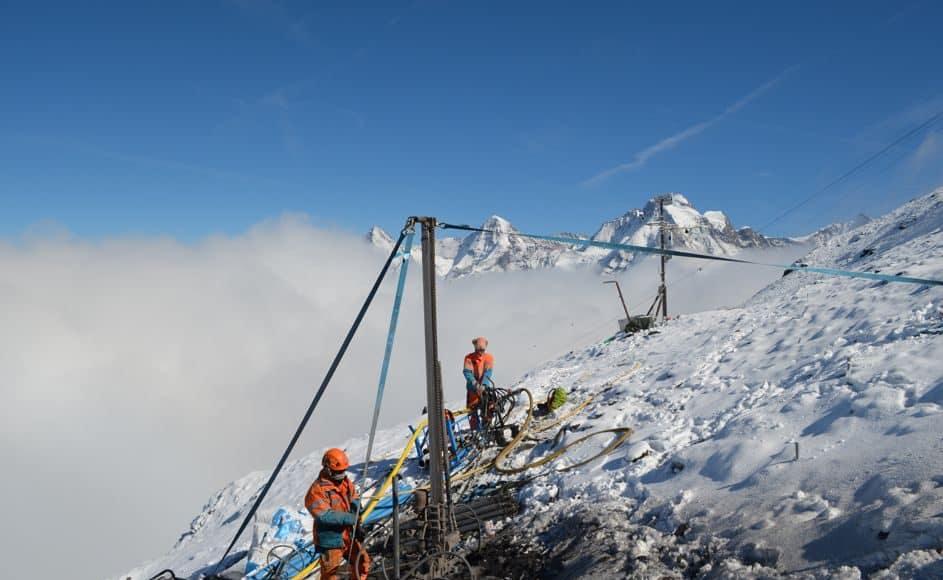 Messungen zeigen, die Temperatur des Permafrost erreichte Rekordhohe Temperaturen.