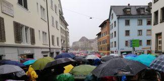 Klimastreik in Zürich