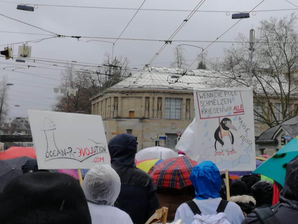 Klimastreik in Zürich.