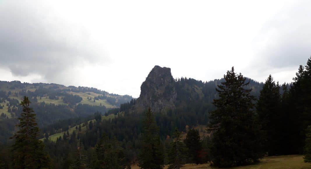 Moorlandschaft in der Nähe der Ibergeregg.