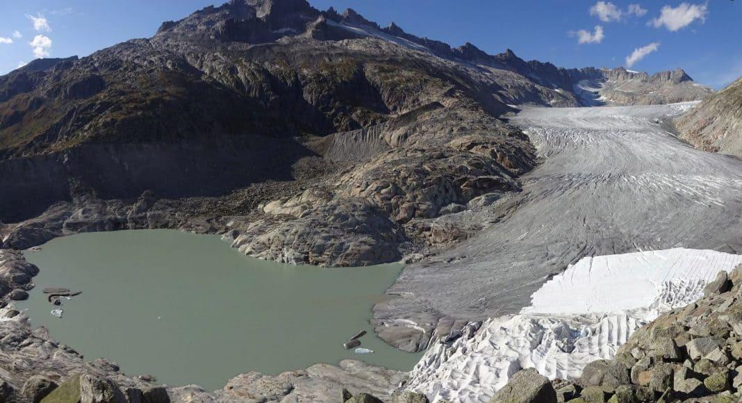 Ein Jahr der Extreme für Schweizer Gletscher 1