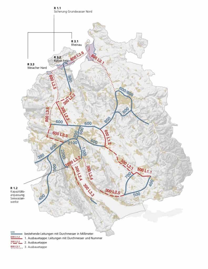 Überregionale Vernetzung der Wasserversorgungen