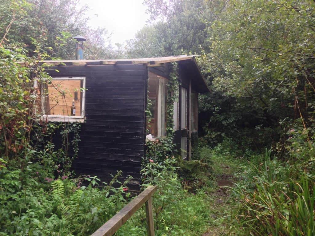 Die Hütte für freiwillige Helfer, Besucher und Freunde