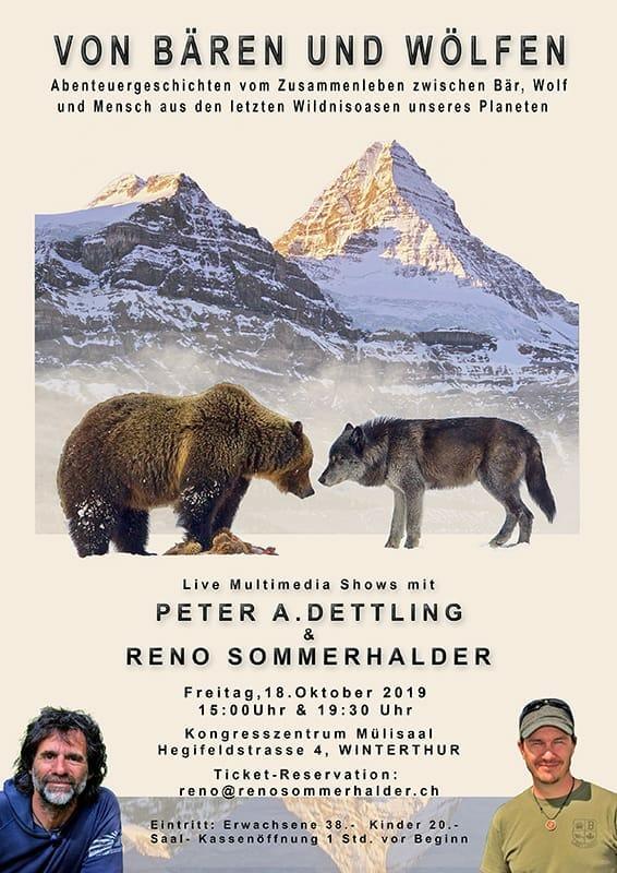 Von Bären und Wölfen