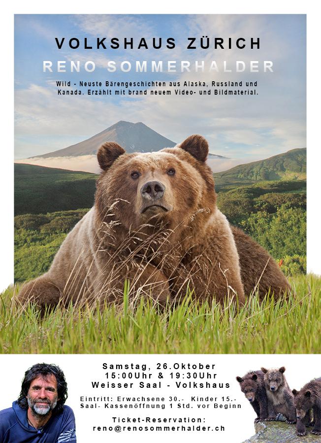 Wild - neueste Bärengeschichten aus Alaska, Russland und Kanada