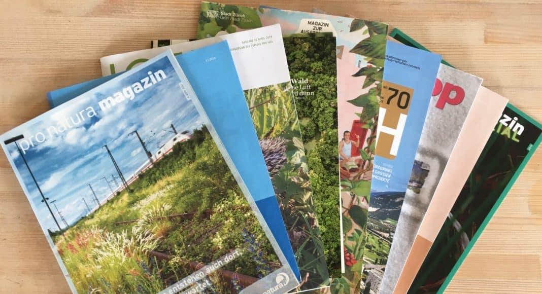 Zeitschriften rund um Natur und Umwelt
