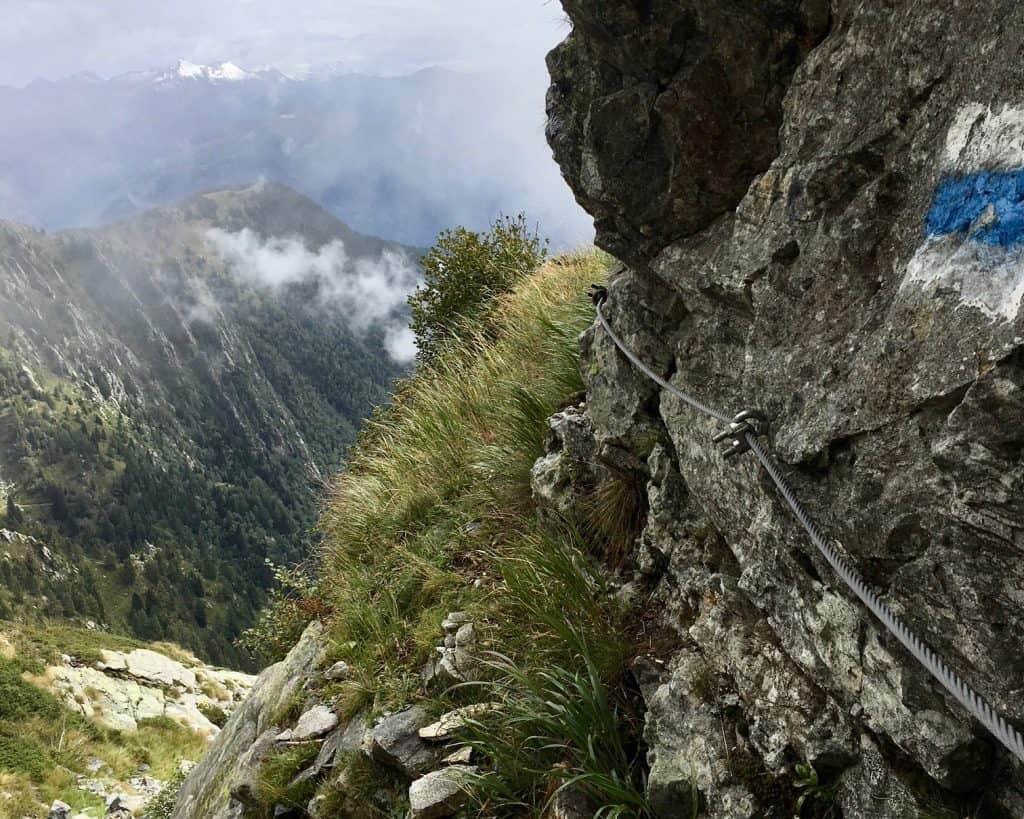 Alpinwanderweg im Tessin