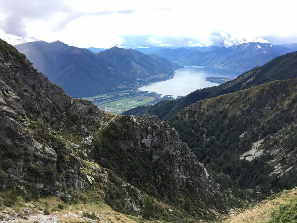 Ausblick auf den Lago di Maggiore