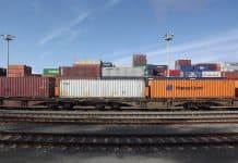 Güterverkehr auf der Schiene