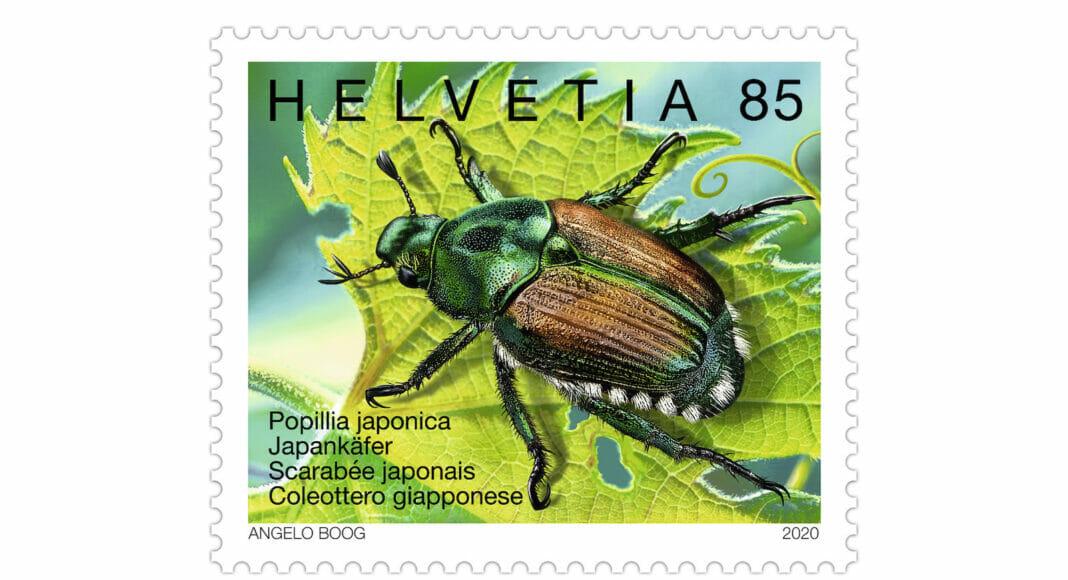Briefmarke Japankaefer