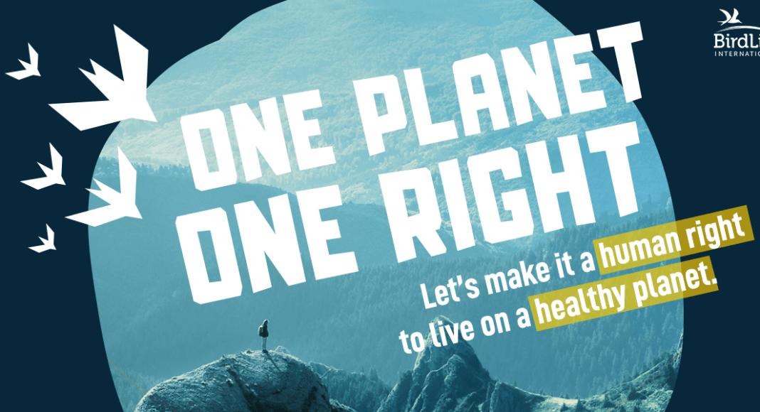 Logo BirdLife Petition One Planet One Right
