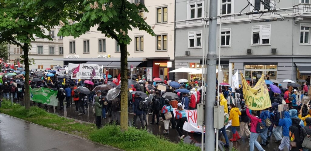 Strike for Future, 21. Mai, Zürich