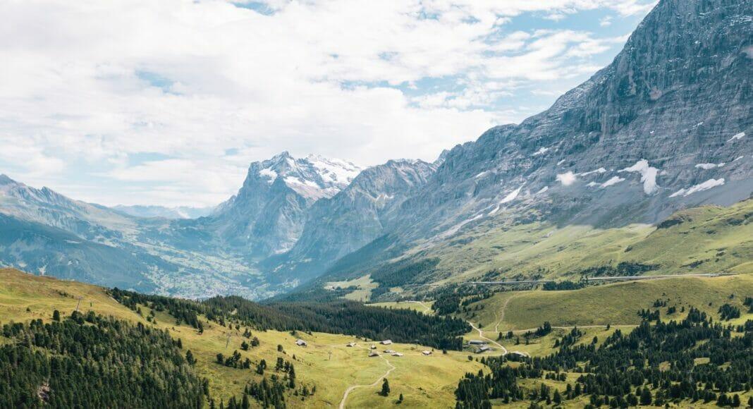 Lauterbrunnen: Ein Blick auf die Berge