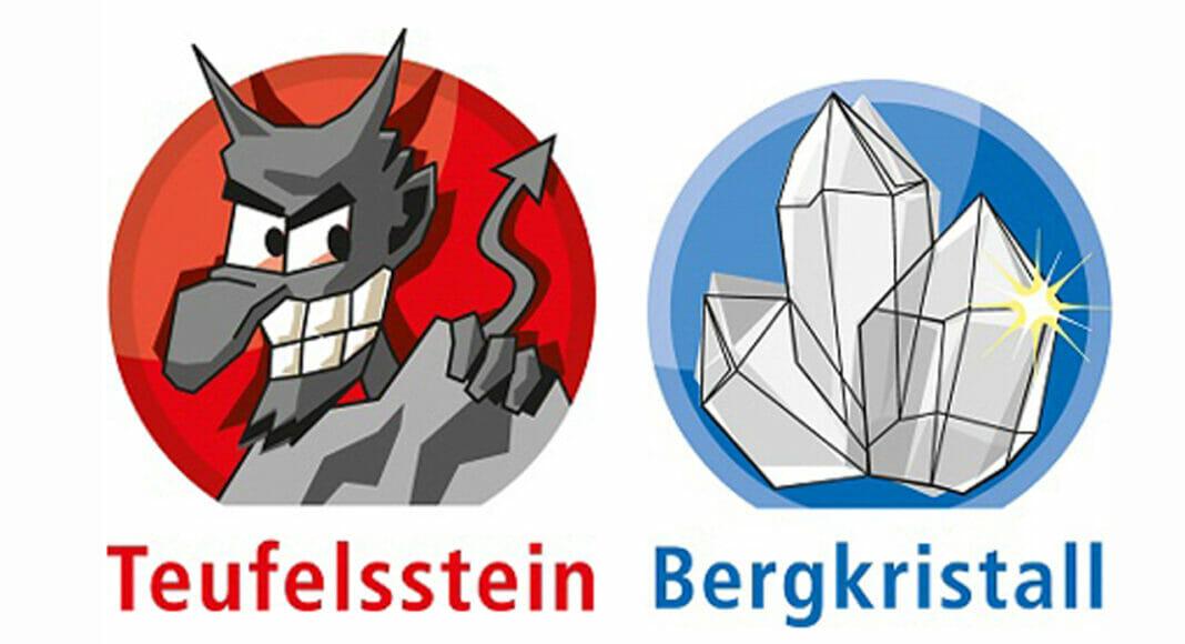 Teufelsstein und Bergkristall