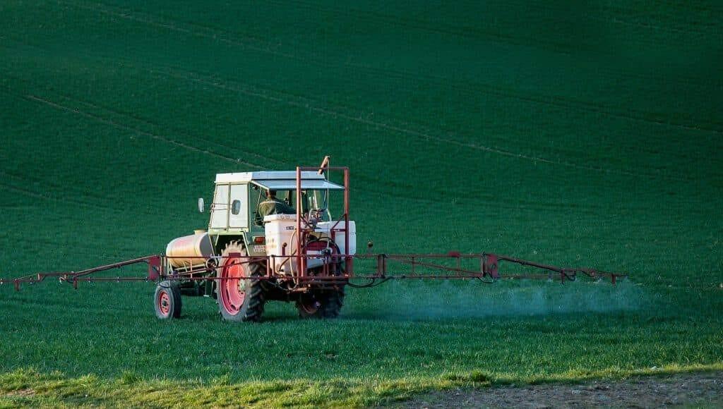 Pestizideinsatz