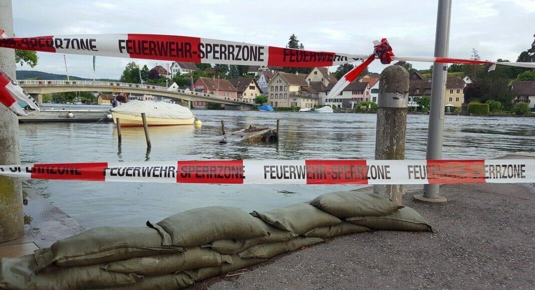 Hochwasser in Stein am Rhein