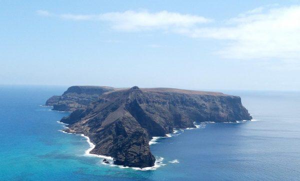 Die kleinen, portugiesischen Insel Baixo.