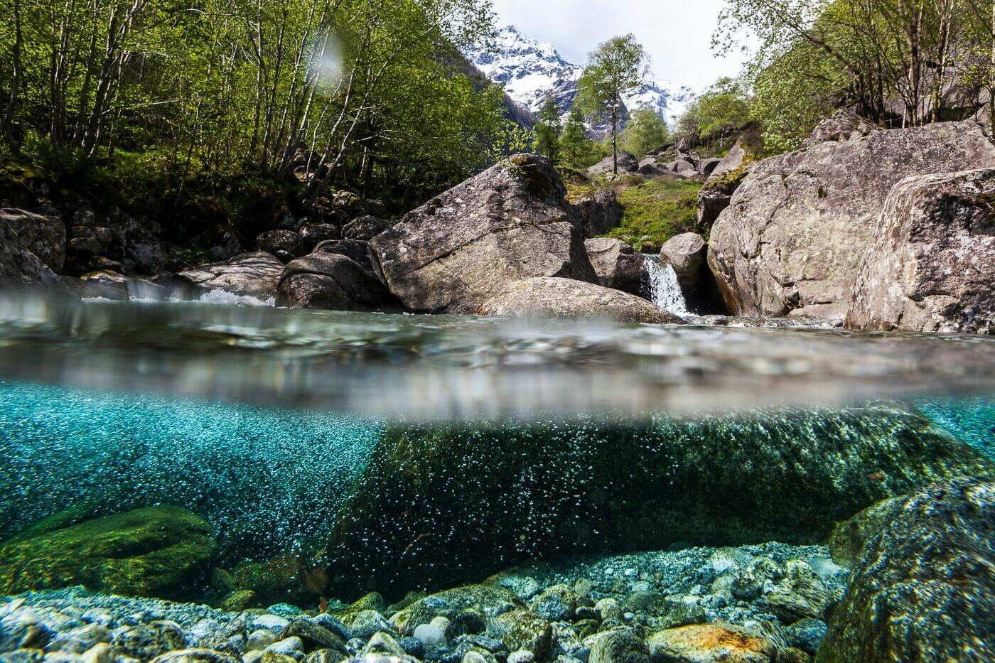 Welche Fliessgewässer sind in der Schweiz besonders schön?
