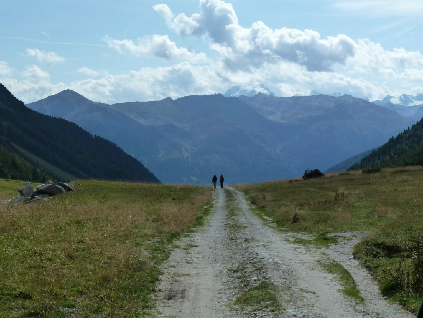 Landschaft in den Bergen als Symbolbild für den Jahresrückblick.