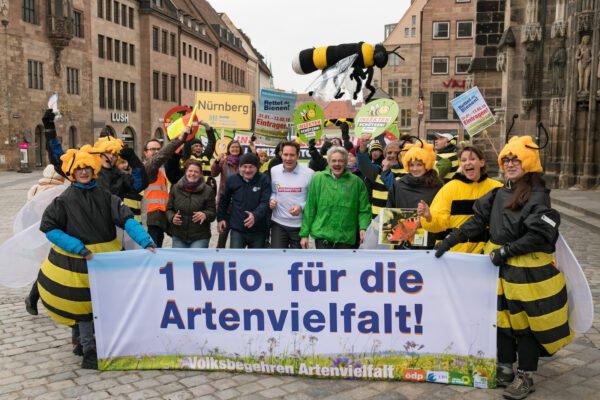 Startschuss Volksbegehren Artenvielfalt in Bayern