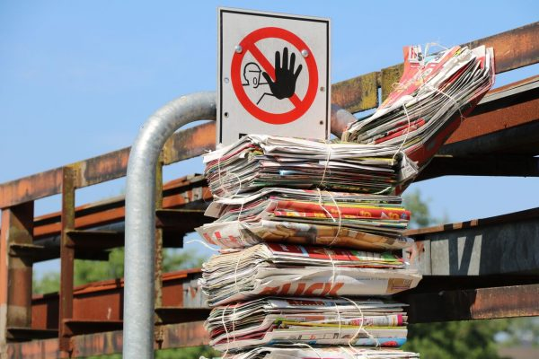 Immer mehr Menschen wollen ihren Papierkonsum verringern. © Wiado